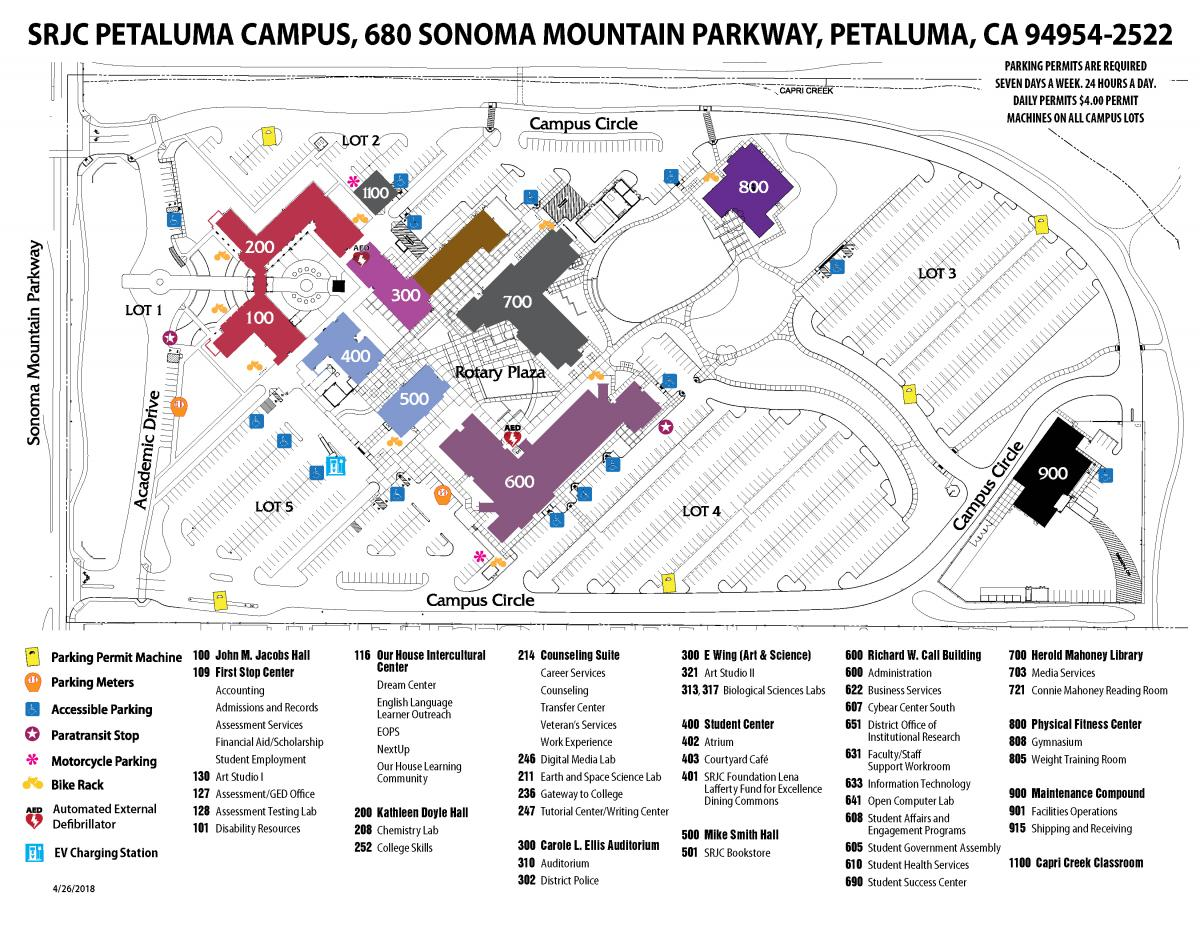 SRJC Maintenance Compound map